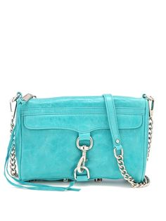 rebecca minkoff mini mac handbag... I can't decided which I like more: the turquoise or the sherbet pink by michele