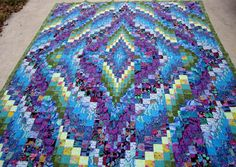 Bargello Quilt collections