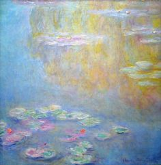 Water Lilies - Claude Monet - WikiArt.org