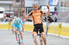 He appeared to be suffering like a dog on the last couple of climbs so 'hat' to Sammy Sanchez