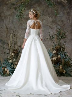 See photos, prices, and key information about this Princess wedding gown from Charlotte Balbier along with more designer wedding gowns. Poofy Wedding Dress, Wedding Dresses, Charlotte Balbier, Princess Bridal, Bridal Separates, Ethereal Beauty, Designer Wedding Gowns, Long Sleeve Wedding, Bridal Collection