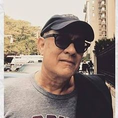 His selfies are everything  #tomhanks