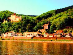 Koblenz-Stolzenfels, Koblenz, Stolzenfels, Castle, Castles Rhine, Mosel, Germany