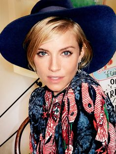 Sienna Miller by Mario Testino for Vogue US January 2015