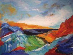 Her kan du se et udvalg af mine solgte malerier - klik på det enkelte foto, for at se maleriet i fuld størrelse. Du er meget velkommen til at  kontakte mig, hvis du er interesseret i malerier i lignende stil.