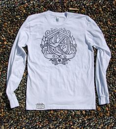 Nautical Swallow Long-Sleeve via Scoutmob Shoppe