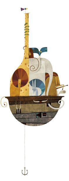 Spanish illustrator and designer Martin Leon Baretto