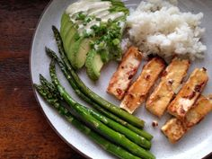 miso-butter tofu. this recipe did not work for me at all - the sauce burned in the pan before the suggested cooking time was up. like, charred and black. the tofu was still edible, but if I try this again, I'd bake it for 30 mins tops and just finish quickly under the broiler.