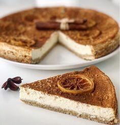FITNESS cheesecake z ovsených vločiek bez cukru a múky! Healthy Deserts, Healthy Cake, Healthy Cheesecake, Cheesecake Recipes, My Recipes, Low Carb Recipes, Cooking Recipes, Fitness Cake, Fat Burning Foods