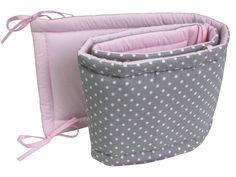 Cotton Crib bumper Baby bed protector cot bumper Grey Crib | Etsy Teepee Kids, Teepee Tent, Crib Protector, Bed Guard, Grey Crib, Cot Bumper, Kid Beds, Happy Shopping, Cribs