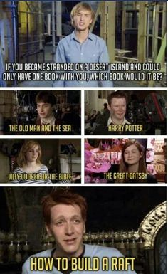 Got to love them weasley twins!
