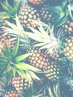 Image via We Heart It https://weheartit.com/entry/136268285/via/26678413 #background #delicious #food #fruit #pineapple #sweet #tumblr