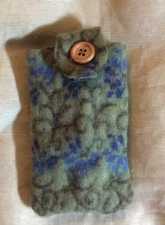A personal favorite from my Etsy shop https://www.etsy.com/listing/255286109/felted-wool-iphone-6-plus-case-blue