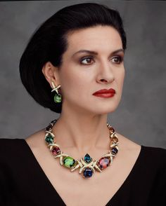 In honor of Paloma Picasso's 35 years as a Tiffany designer, her extraordinary necklace is back in the hands of Tiffany and will be unveiled in our Fifth Avenue flagship store today.