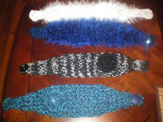 Ear Headband: made on a long loom.......