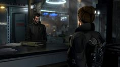 Adam Jensen - Deus Ex Mankind Divided. Jim Miller, Deus Ex Mankind Divided
