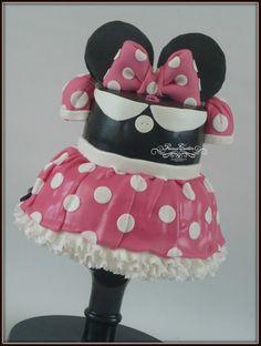Mini mouse cake www.facebook.com/precioustaarten