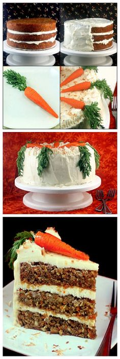 Banana Carrot Cake with Cream of Coconut