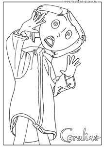 coraline coloring pages Google