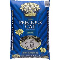 Ultra Premium Clumping Cat Litter 40 pounds Scoopable Home Litter Box Kitty New  #PreciousCat
