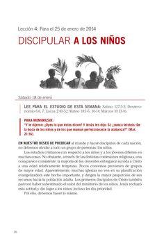 Leccion discipular a los niños by Escuela Sabatica via slideshare. Descarga aqui: http://gramadal.wordpress.com/