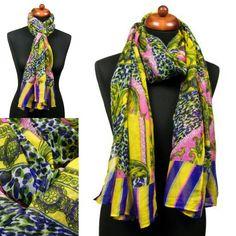 Trendy fantasieprint pareo sjaal geel.   http://www.sjaals4you.nl/trendy-fantasieprint-pareo-sjaal-geel.html   #sjaal #fashion #pareo #geel #mode