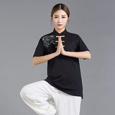 Amazon.com: NOLLY Tai Chi Clothing Women,Men Tai Chi Clothing Breathable Embroidery Kung Fu Clothes Martial Arts Clothing Group Performance Clothing,Black-XXXXL: Home & Kitchen Tai Chi Clothing, Martial Arts Clothing, Kung Fu, Embroidery, Group, Clothes For Women, Amazon, Kitchen, Black