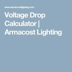 Voltage drop and wire gauge size calculation for 12v led strip voltage drop and wire gauge size calculation for 12v led strip lights kitchen pinterest 12v led strip lights strip lighting and drop keyboard keysfo Images