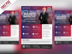 Awesome Multipurpose Creative Business Flyer PSD Template. Download Free Multipurpose Creative Business Flyer PSD Template. This Creative Business Flyer PSD Template designed exclusively for corporate, business, agency promotion or any multipurpose promotional use. You can insert your own brands, Logo, images, and text. This Free PSD File is Fully Editable. It is Very easy to use and...