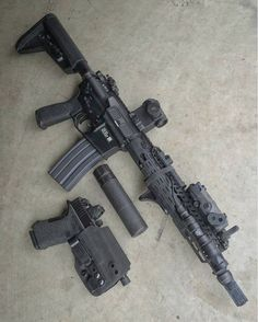 Airsoft Guns, Weapons Guns, Guns And Ammo, Custom Guns, Custom Ar, Cool Guns, Assault Rifle, Military Weapons, Firearms