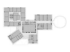 98 best grundrisse images on pinterest architecture floor plans lernen unter dem vulkan grundschule in belgien von nl architects malvernweather Image collections