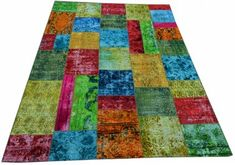 Overdyed Patchwork Rug | London House Rugs
