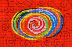 Patti Mann needlepoint design