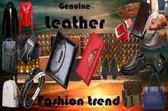 Genuine Leather Products for Ladies &  Gentlemen. All accessories in one place, A family shopping experience!