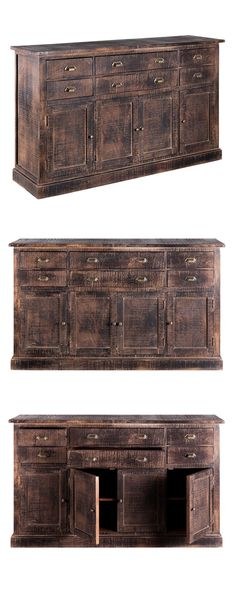 If you're going for the timeless appeal of Victorian-era furnishings, the Bibury Sideboard should be on your radar. We loved the dramatic industrial-themed silhouette, crafted from mango wood and finis...  Find the Bibury Sideboard, as seen in the How to Steampunk Your Home Collection at http://dotandbo.com/collections/how-to-steampunk-your-home?utm_source=pinterest&utm_medium=organic&db_sku=116153
