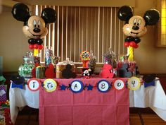 Perfect Mickey Mouse Theme Baby Shower