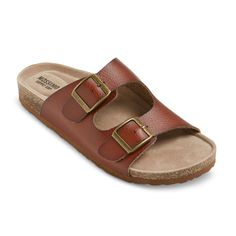Womens Bailey Two Buckle Footbed Sandals (Cheaper Birkenstock) at Target. 24.99 STEAL!!