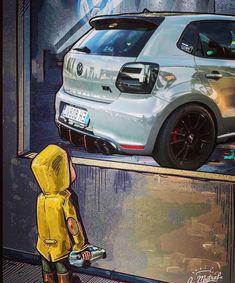 Vw Turbo, Nardo Grey, Lux Cars, Volkswagen Polo, Aesthetic Gif, Amazing Cars, Sport Cars, Motors, Motorcycles