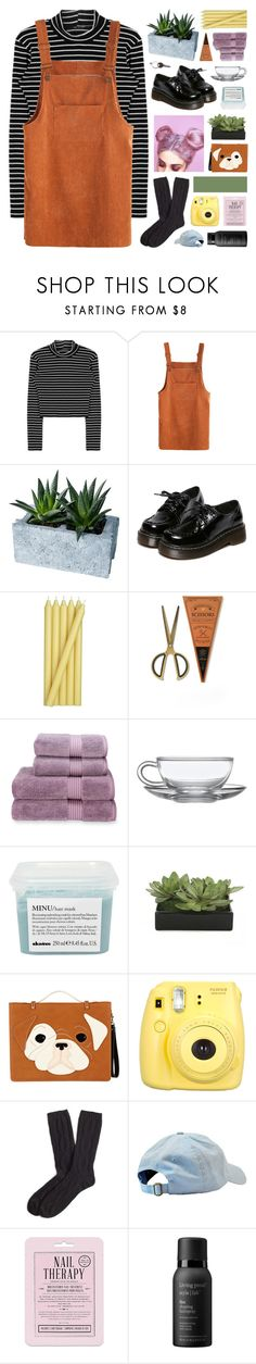 """testing new taglist!"" by hhuricane ❤ liked on Polyvore featuring Dot & Bo, WithChic, Crate and Barrel, Christy, Davines, Lux-Art Silks, ALDO, Fujifilm, Brooks Brothers and Love 21"