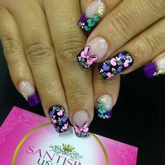 Wow Nails, Beauty Nails, Manicure, Nail Designs, Nail Polish, Nail Art, Valentines, Heart Nails, Luxury Nails