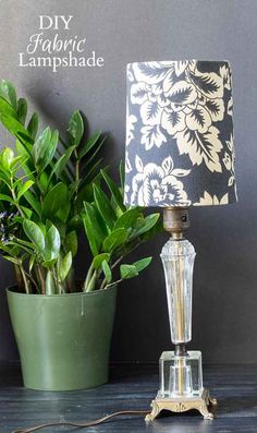 This DIY lampshade makeover is so easy. For just a few dollars you can cover your existing shades and totally update the entire look and feel of the space.