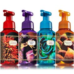 Looks like we got some new Winter 2014 Bath & Body Works Hand Soaps to look forward to!