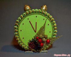 Часики из конфет на новый год и другие конфетные новогодние поделки