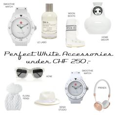 White Accessories Moon Boots, Chf, Cooking Timer, Fendi, Accessories, Decor, Decoration, Decorating, Dekorasyon