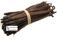 Comprar as favas de baunilha bourbon de Madagascar, Tahiti (Taiti), Brasil. Vanille Bourbon, Cinnamon Sticks, Asparagus, Vanilla, Spices, Food, Grand Cru, Tahiti Vanille, Tahiti