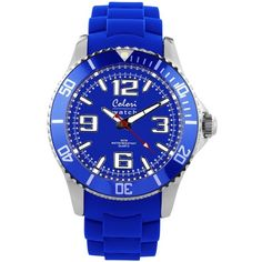 Kobalt blauw horloge