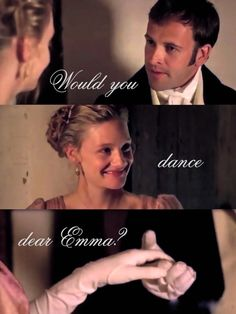 mr knightley & emma dance