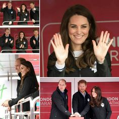 "359 Likes, 1 Comments - Duchessa di Cambridge (@katemiddletonitalia) on Instagram: ""Kate Middleton,  il principe William e il principe Harry all'edizione 2017 della Virgin Money…"""