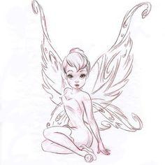 Resultado de imagen de tatuajes de campanilla