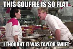 Gordon Ramsay meme - This souffle is so flat